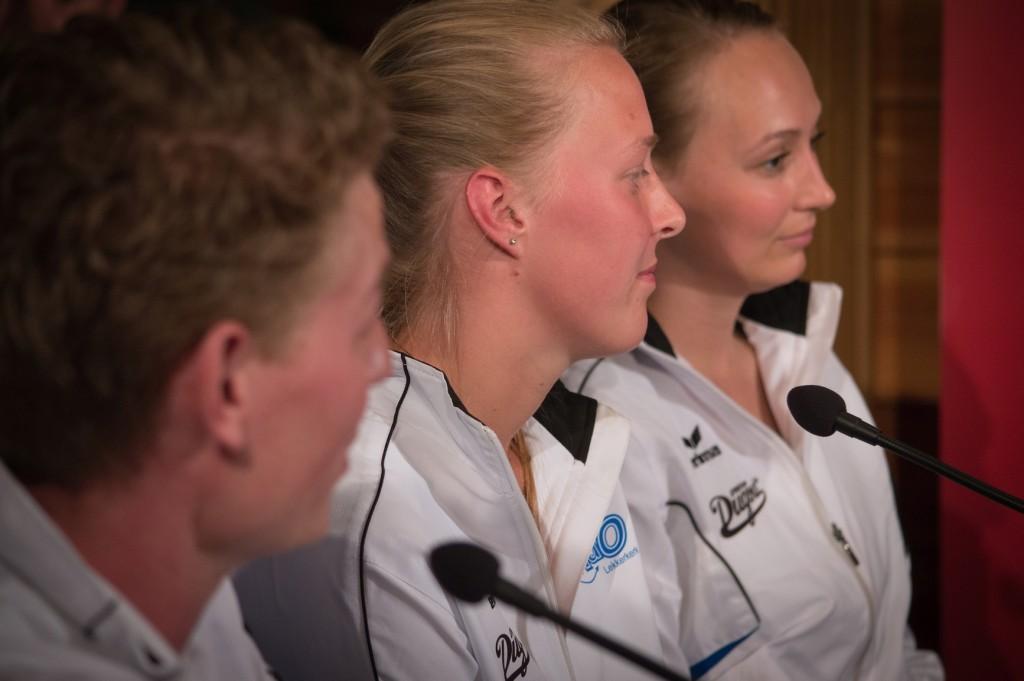 KdO Lekkerkerk naar finale NK: Edwin Vermeulen, Benice Breeman en Marieke Ponsen.