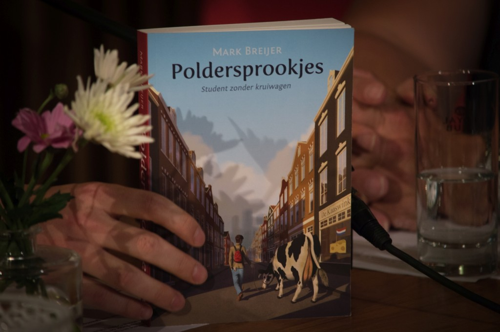 Poldersprookjes, geschreven door Mark Breijer met een omslag van Tom Mourik.