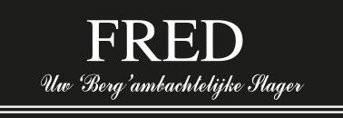 Slager Fred van Laar