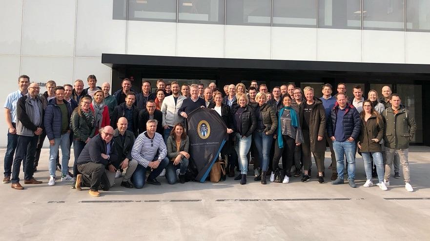 Businessclub vv Schoonhoven bezoekt Volvo-fabrieken