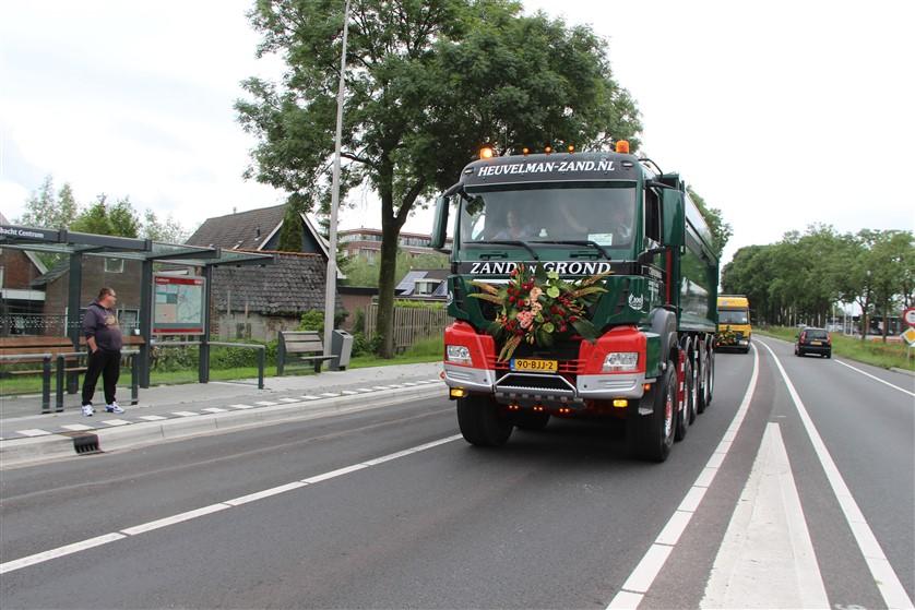 In beeld: Truckrun Krimpenerwaard