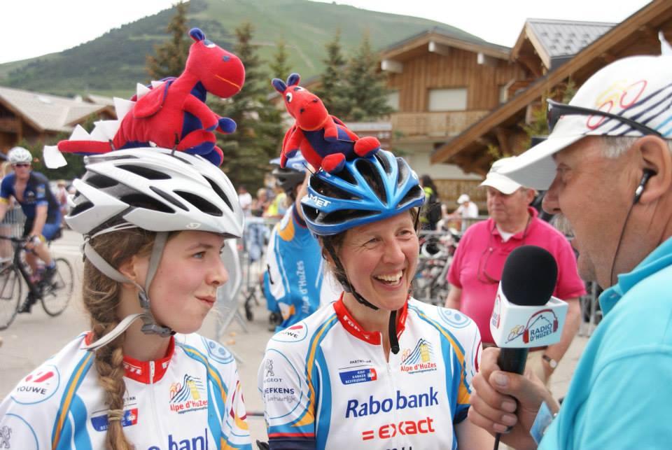 RTV Krimpenerwaard live bij Alpe d'HuZes