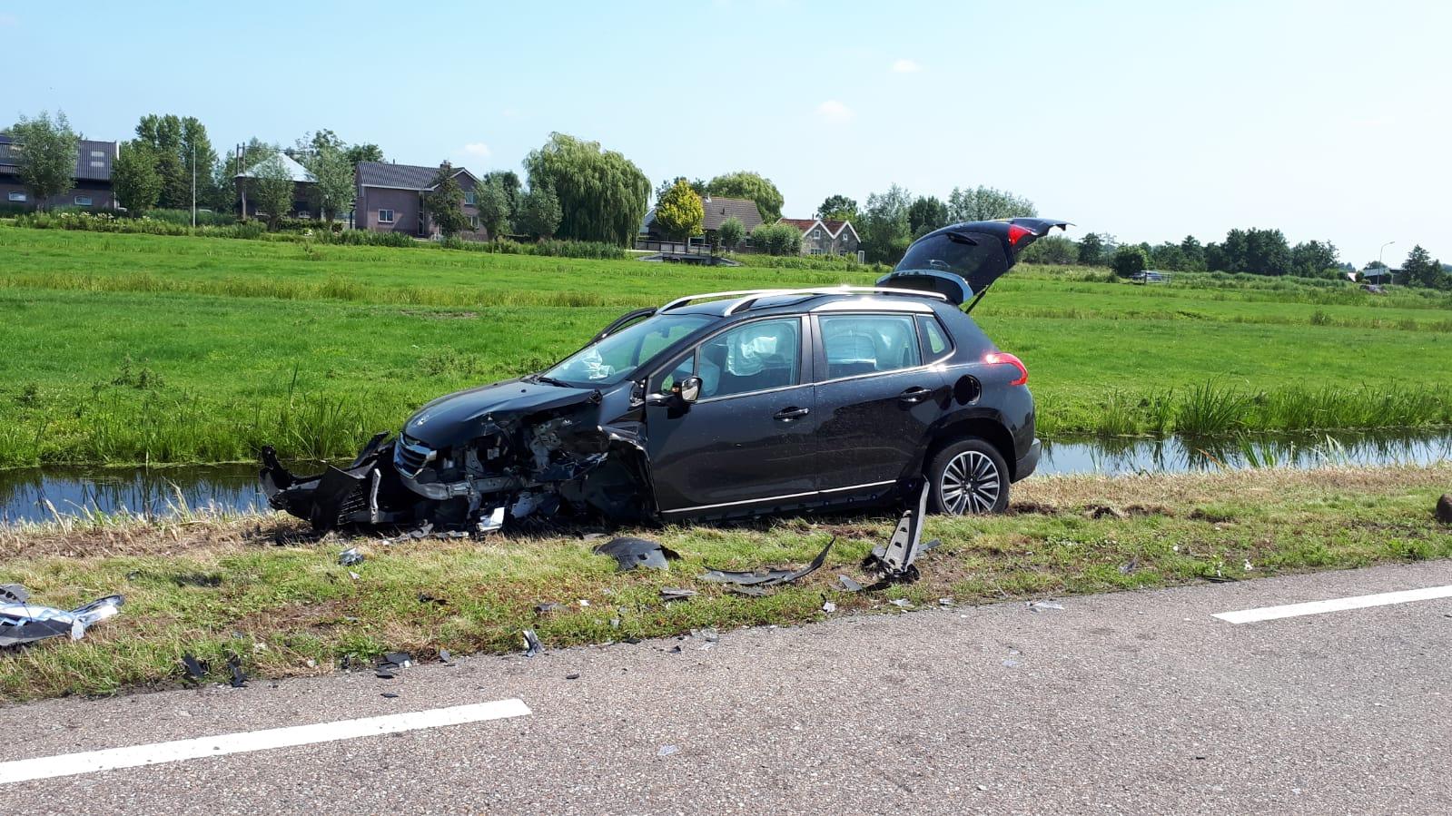 Ongeval Zijdeweg Ouderkerk aan den IJssel