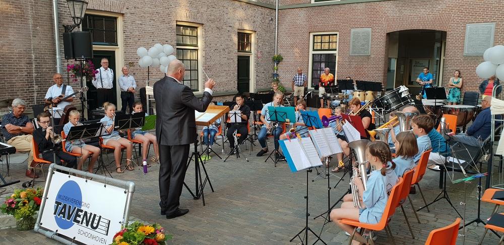Zomeravondconcert jeugdorkest Tavenu 🗓