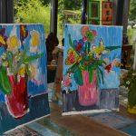 Schilderen als Van Gogh in De Buurtschuur Lekkerkerk