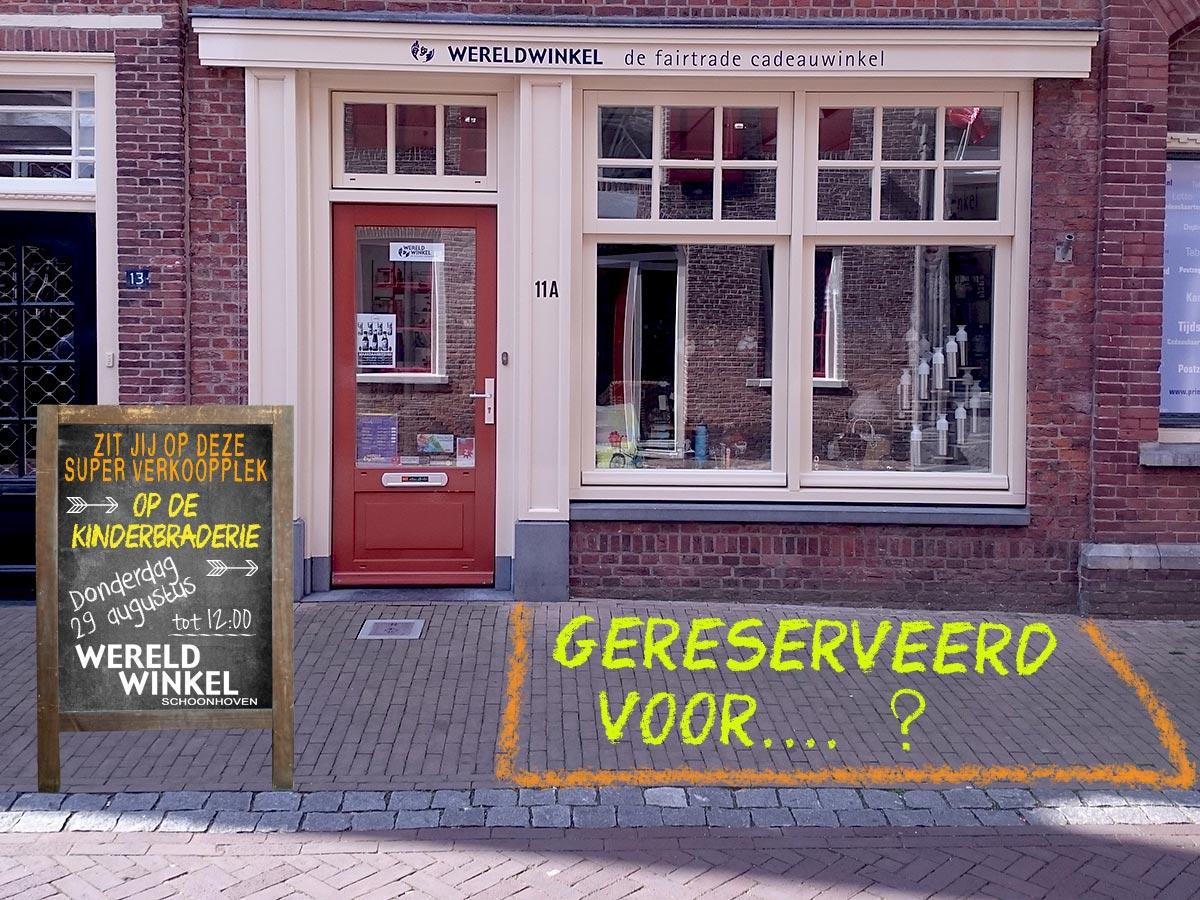 53e editie Kinderbraderie Schoonhoven 🗓