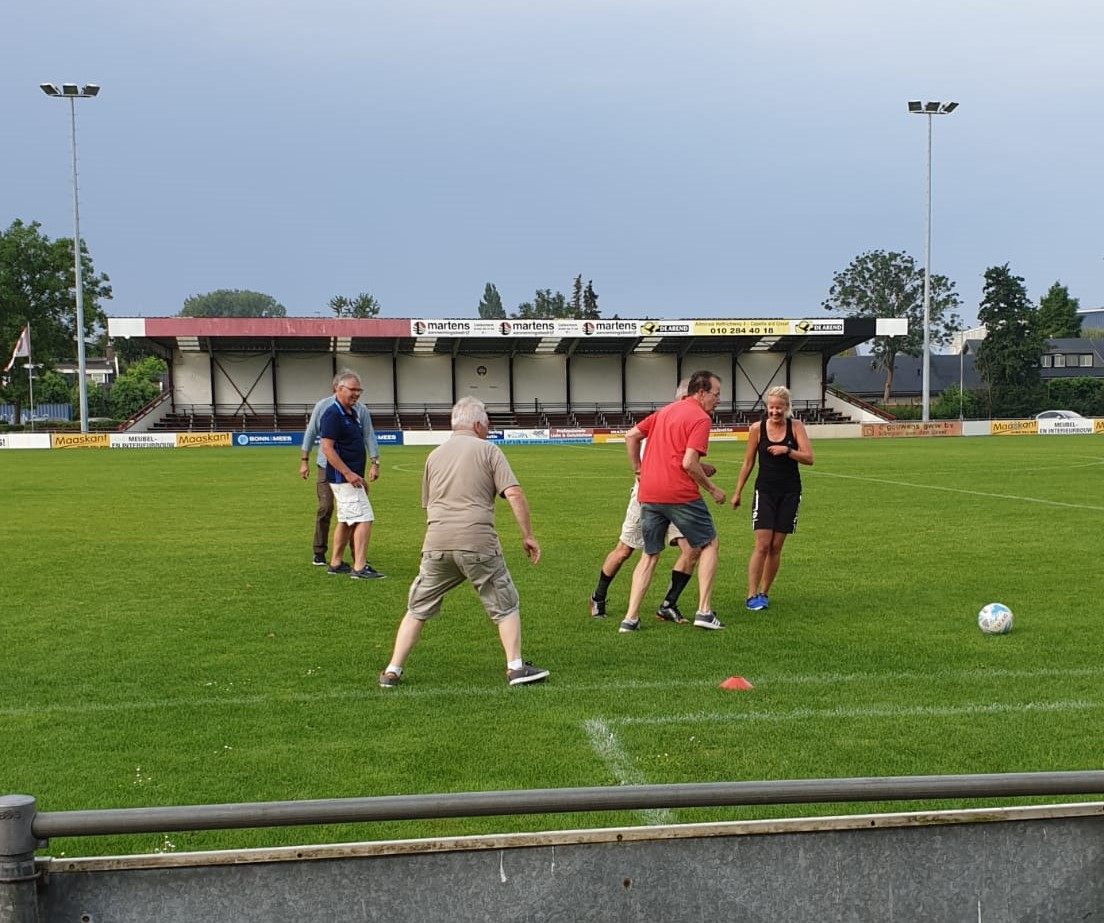 Aftrap Walking Football in Krimpen aan den IJssel