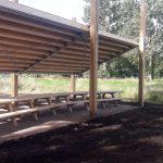 Picknickplek en toiletgebouw Loetbos klaar