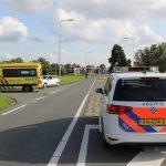 Auto's botsen op Boezemweg Lekkerkerk