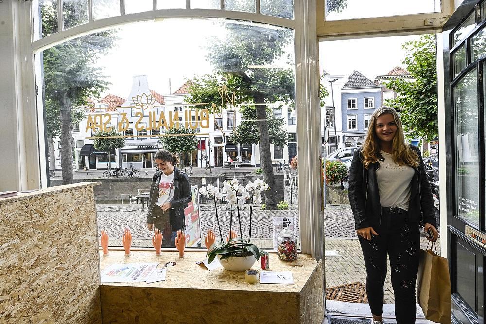 Schouders onder tegengaan winkelleegstand Schoonhoven