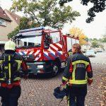 Brandweer Schoonhoven in actie voor ontploft ei