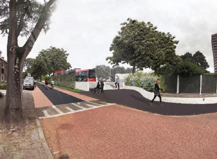 Definitieve locatie bushaltes langs C.G. Roosweg bekend