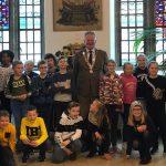 Burgemeester ontbijt met leerlingen Julianaschool