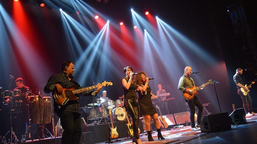 Dire Straits tributeband in Theater Concordia
