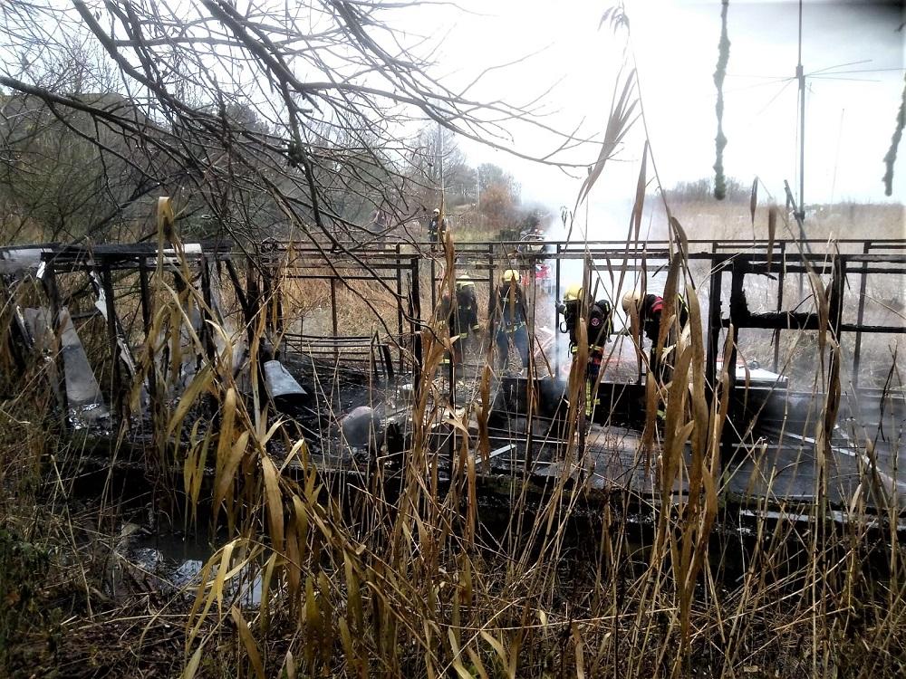 Brand in buitengebied Krimpen aan de Lek