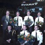 Lintje voor drie brandweervrijwilligers Stolwijk