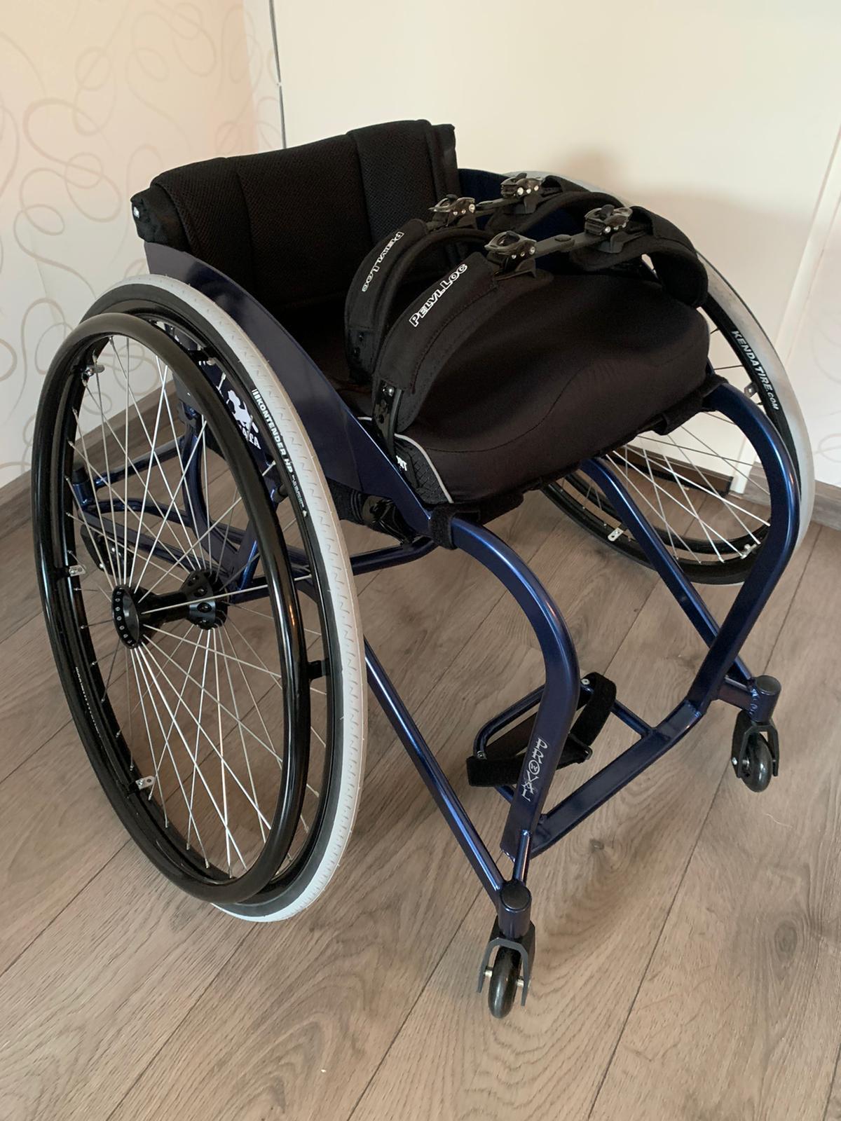 Nieuwe sportrolstoel voor Jessica Blaak