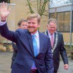 Geslaagd bezoek Koning Willem-Alexander aan Vakschool
