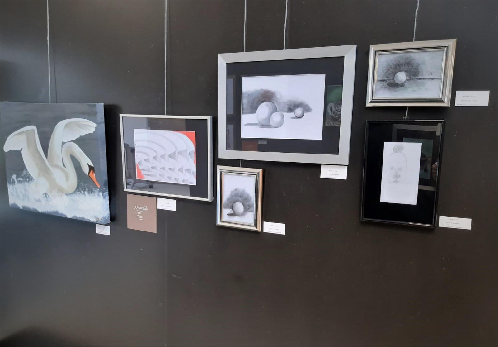 Leerlingen Eskes Atelier exposeren in bibliotheek Schoonhoven 🗓