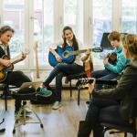 Gratis proefles 'Songwriting' bij Muziekschool Krimpen