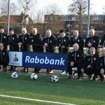 Rabobank sponsort walking football Lekkerkerk