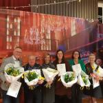 Tavenu Schoonhoven huldigt zes jubilarissen