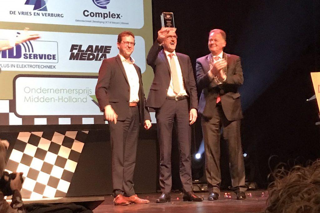 De Vries en Verburg wint ondernemersprijs