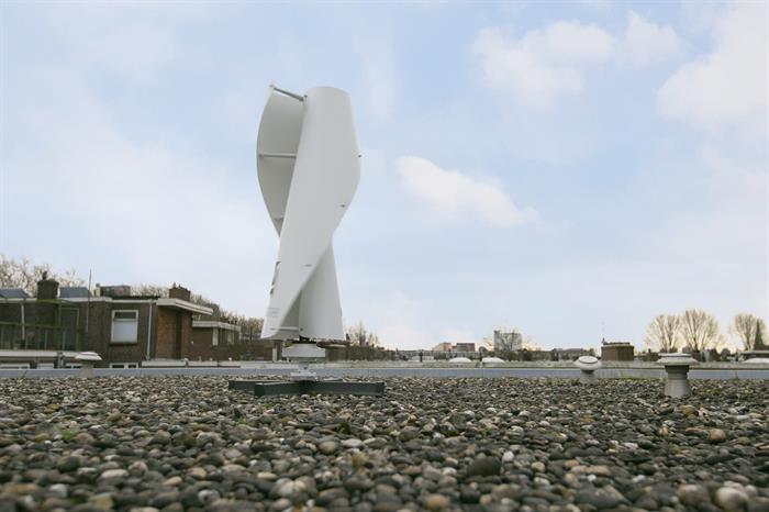 Krimpen test kleine windturbines