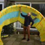 Met de wind mee van Hoek van Holland naar Den Helder