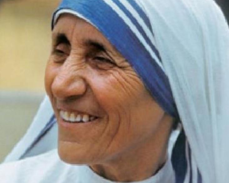 Expositie over heilige Moeder Teresa