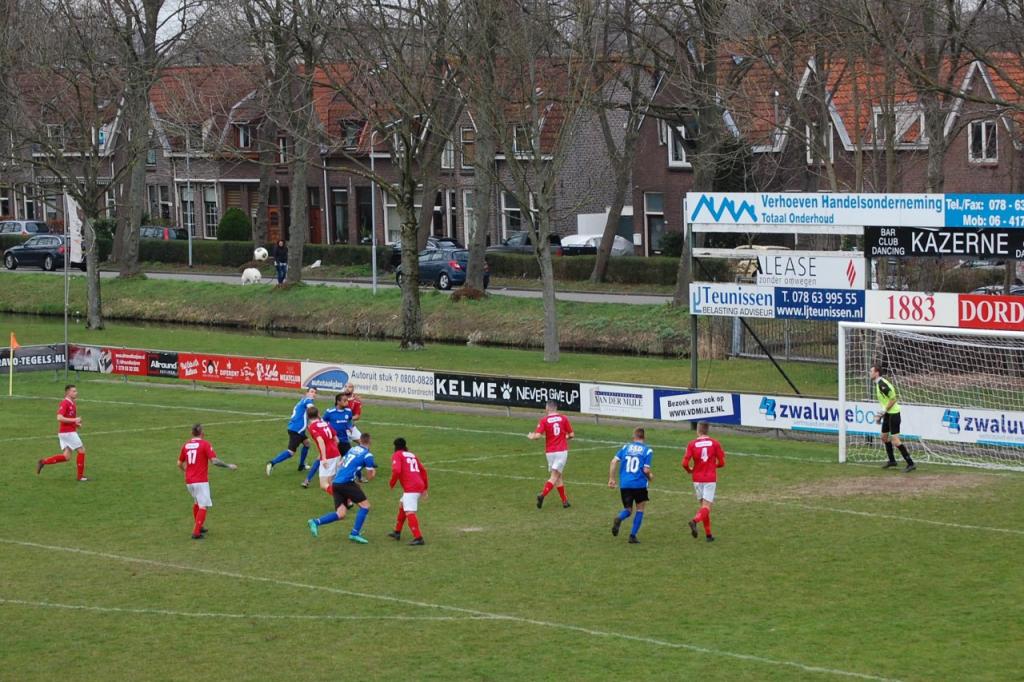 Onnodige nederlaag voor Dilettant in Dordrecht