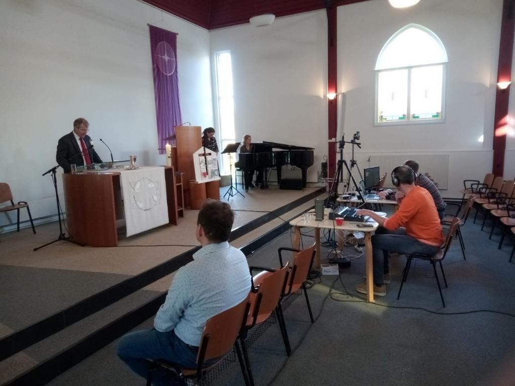 Tot juni online diensten vanuit kerk Bergambacht