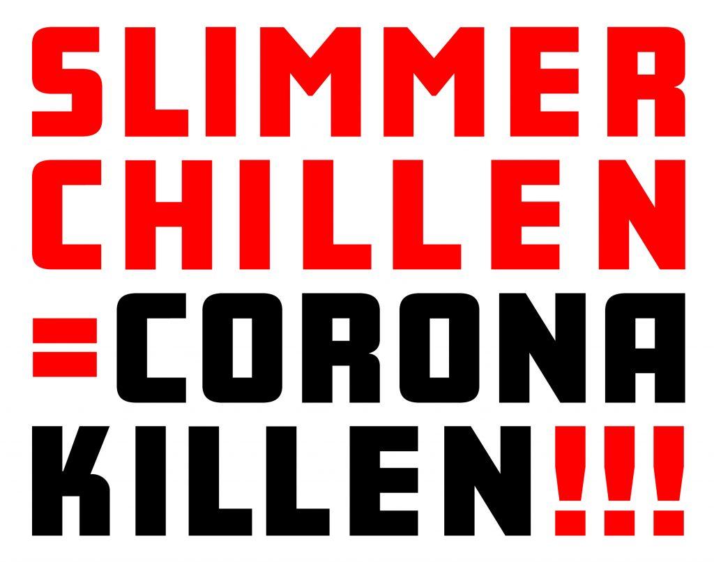 Campagne 'Slimmer chillen = Corona killen!' van start
