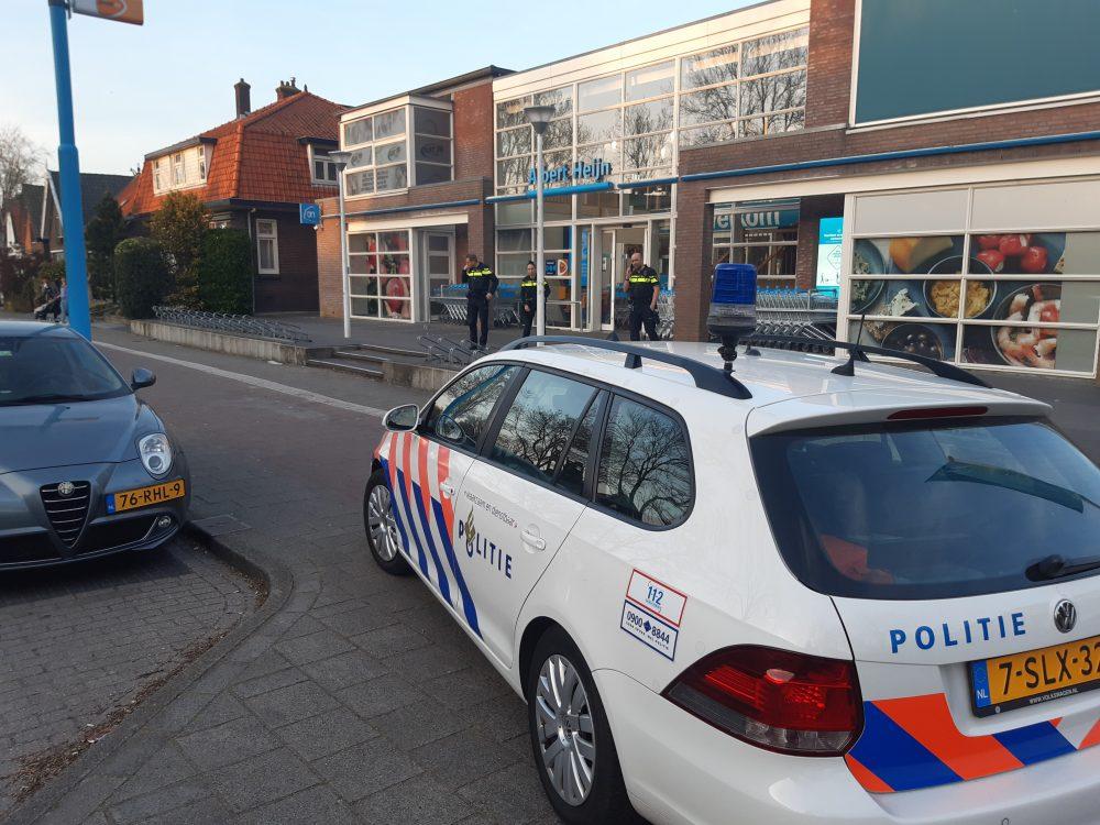 Gewapende overval op supermarkt Lekkerkerk