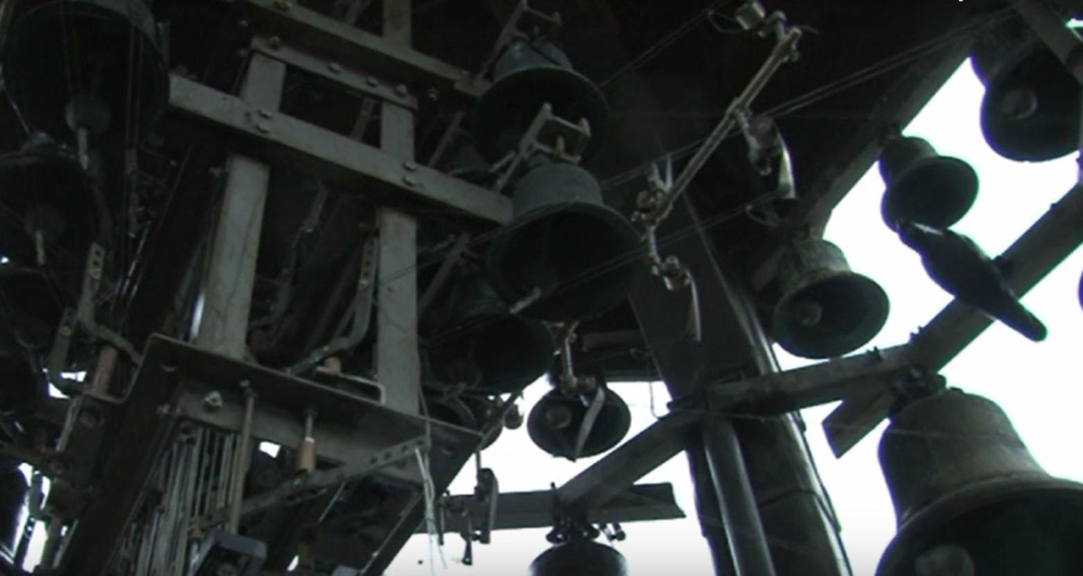 Verzoeknummers op carillon stadhuis Schoonhoven