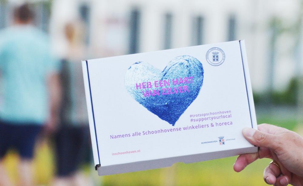 #trotsopSchoonhoven-brievenbusdoosje bezorgd op 7000 adressen