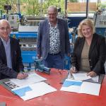 Overeenkomst getekend voor ontwerp nieuwbouw school en sporthal Schoonhoven