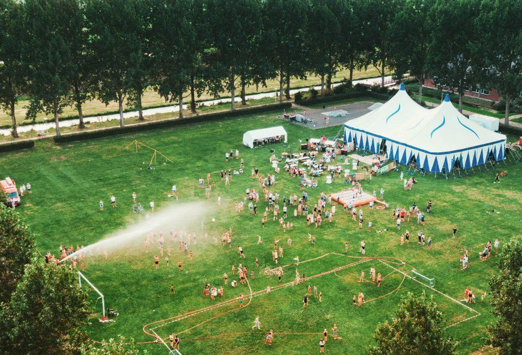Bijzondere editie TENTdagen in het Springerpark en Pop-Up terras