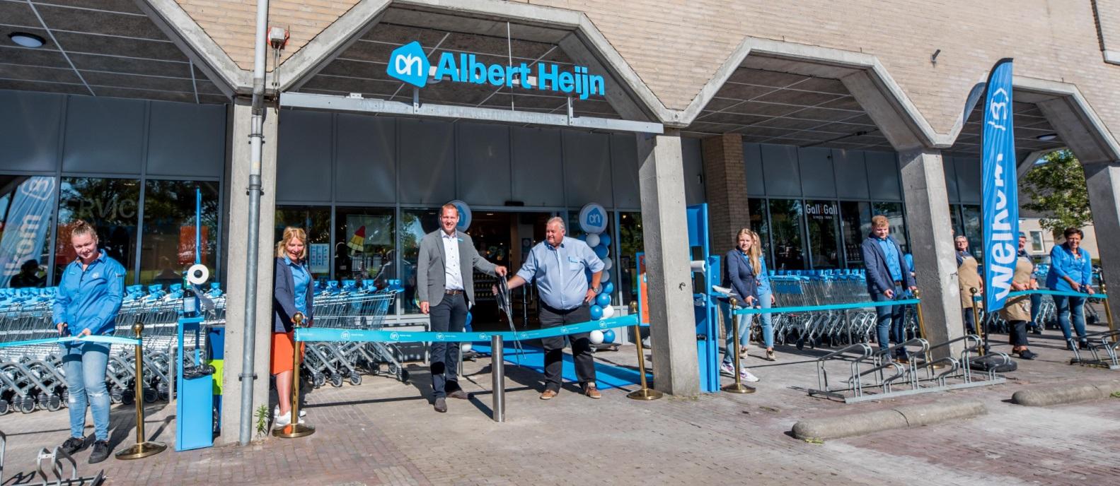 Vernieuwde Albert Heijn Schoonhoven open