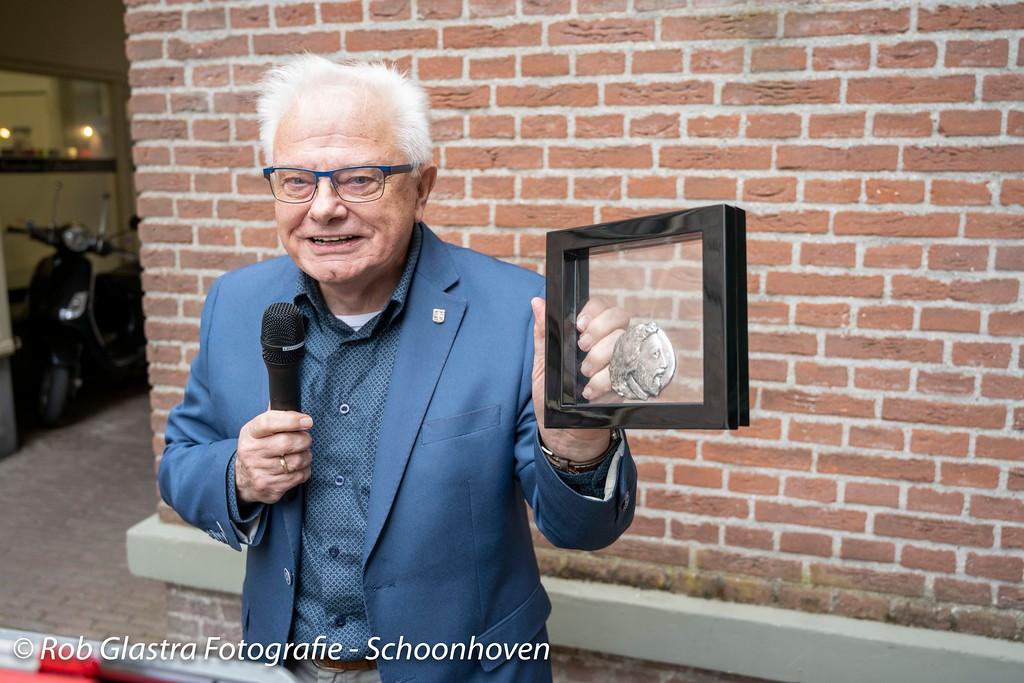 Schoonhovenaar Ad de Vaal wint 'Jan van Beaumontpenning' 2020