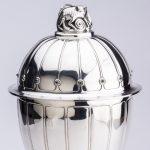 Unieke bokaal in vaste collectie Zilvermuseum
