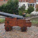 Kanonnen Schoonhoven zien er weer gelikt uit