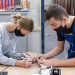 Vmbo-leerlingen Schoonhovens College kijken bij toekomstige vakken