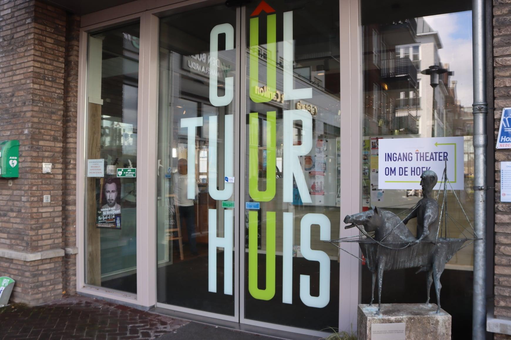 Ook Cultuurhuis tijdelijk dicht vanwege coronamaatregelen