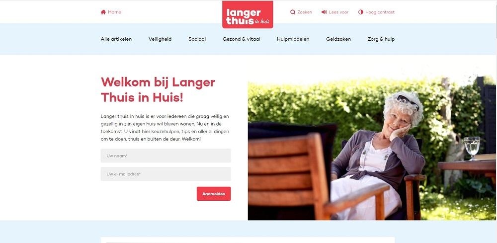 Langer Thuis in Huis: complete digitale langer thuis woon-gids voor de moderne senior
