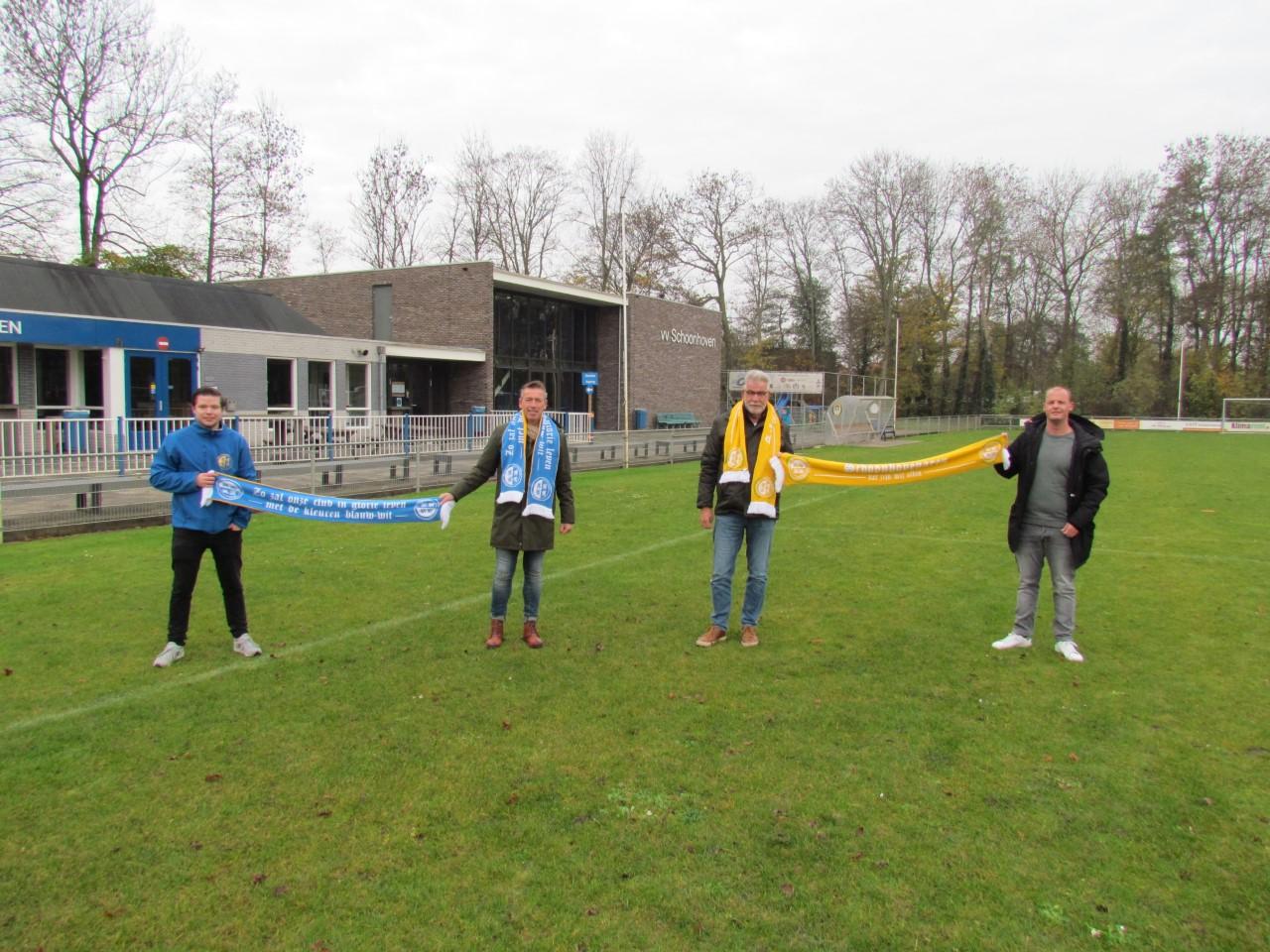 Supportersvereniging VV Schoonhoven viert jubileum met clubsjaal