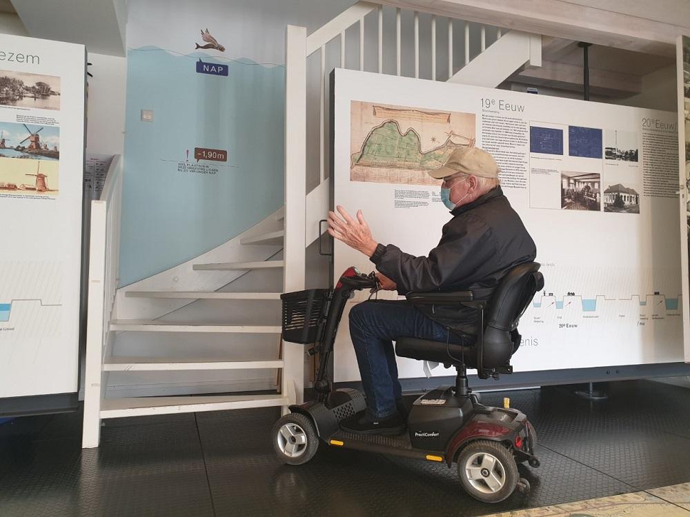 Gemaal Haastrecht hoopt op bijdrage voor traplift