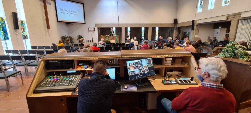 Diensten Ontmoetingskerk online te volgen