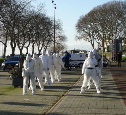 Vreedzame demonstratie van 'Guerilla Mask Force' nader toegelicht