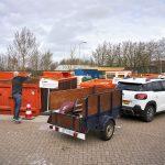 Afvalbrengstation Bergambacht alleen nog op afspraak toegankelijk